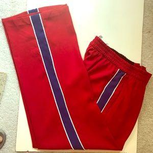 Zara Women Sz XL pants. Stripe down each leg